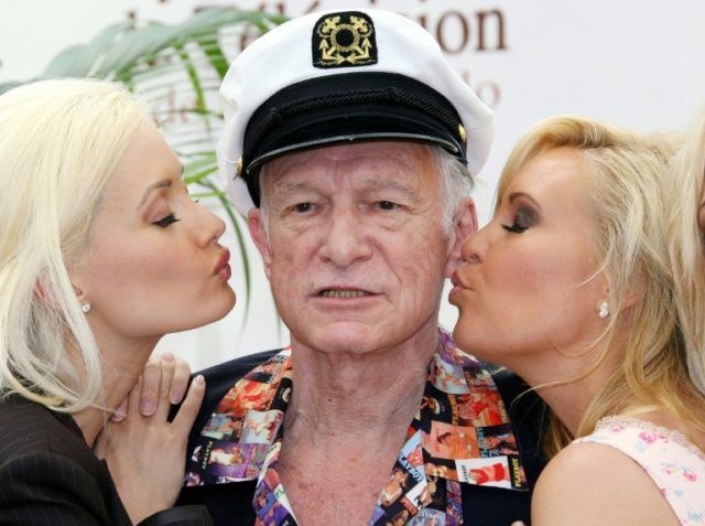 Hugh Hefner, the silk pajamas-wearing founder of Playboy Magazine who helped steer nudity into the American mainstream, died Wednesday, his magazine announced. He was 91 years old.