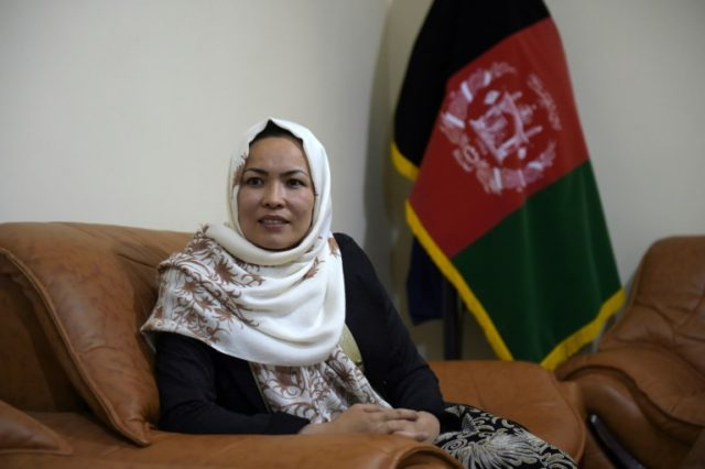Masooma Muradi, Afghanistan's only female provincial governor, has been replaced by a man