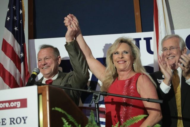 Republican ex-judge Roy Moore's victory over incumbent Senator Luther for a US Senate seat in Alabama sends hockwaves through establishment Washington and dents the president's influence over his restless political base