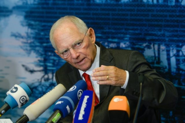 German Finance Minister Wolfgang Schaeuble has been a staunch backer of austerity for stricken eurozone member states like Greece