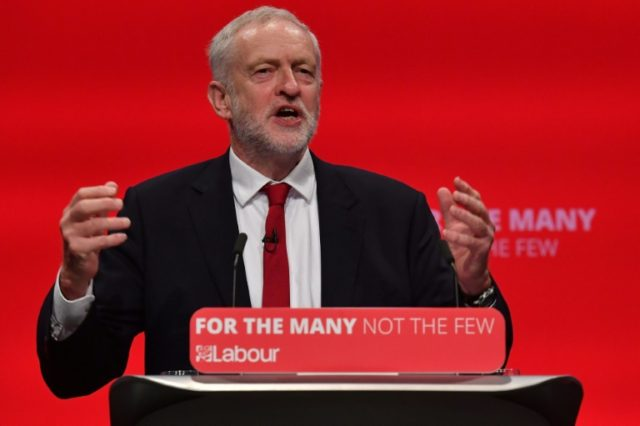 "Britain's main opposition Labour Party leader Jeremy Corbyn tells a party conference that Labour is ""becoming a government in waiting""."