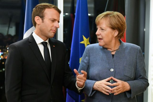 German Chancellor Angela Merkel, the EU's most powerful leader, has indicated her support for French President Emmanuel Macron's vision for the future of the bloc