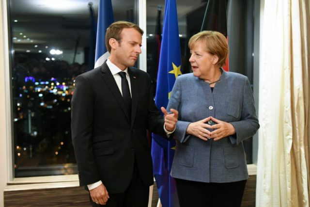 German Chancellor Angela Merkel said there was a deep consensus between France and Germany on the need for EU reform