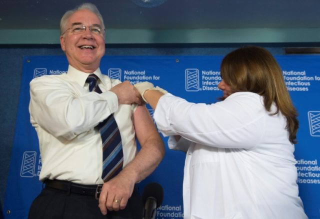 "US Secretary of Health and Human Services Tom Price expressed ""regret"" for his use of private jets for government travel, and said in a statement he would cut a check to the US Treasury to reimburse the costs"