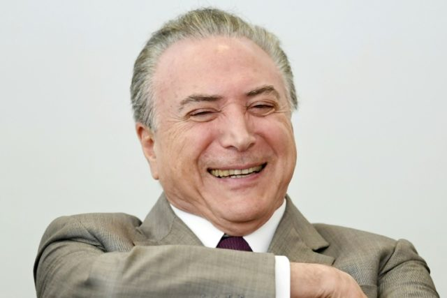 Brazilian President Michel Temer, who is embroiled in a massive corruption scandal, has seen his popularity drop to an abysmal three percent
