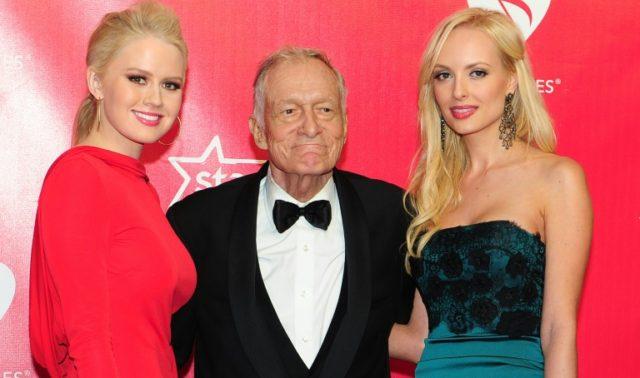 Playboy magazine fonder Hugh Hefner, seen in 2012, died this week