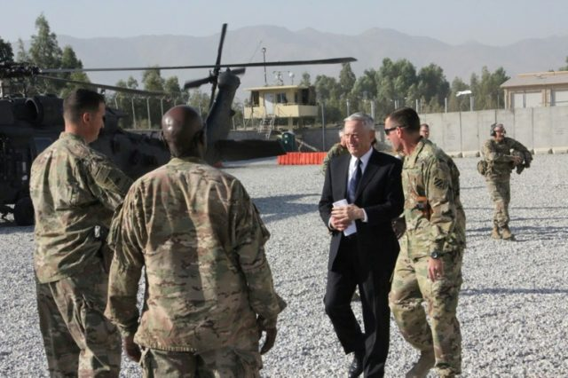 During a high-profile visit by US Defense Secretary Jim Mattis and NATO chief Jens Stoltenberg to the Afghan capital Kabul on Wednesday, insurgents launched a volley of rockets near the city's international airport