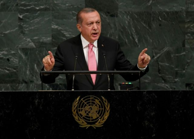 President Recep Tayyip Erdogan drew a parallel with US-based cleric Fethullah Gulen, who Ankara sees as behind a failed coup, as Washington seeks the release of evangelical pastor Andrew Brunson