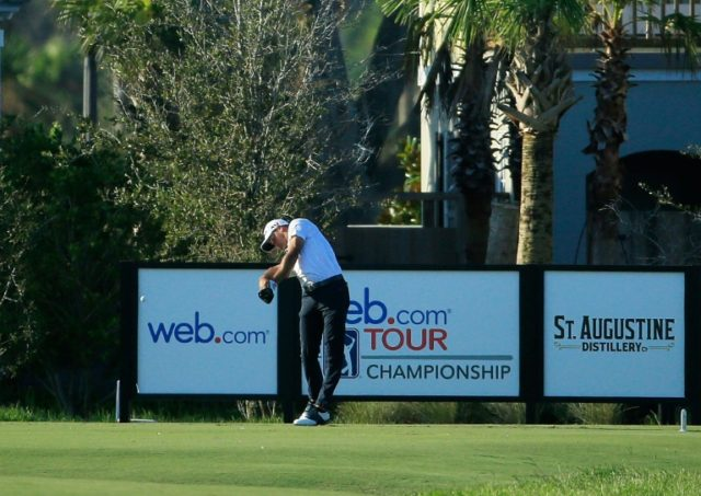 Playing on his home course at the Atlantic Beach Country Club, Saunders posted 13 birdies for a three-stroke lead over fellow Americans Matt Atkins and Steve Wheatcroft, who both shot 62