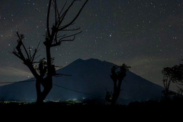 Mount Agung's rumbling has put Indonesian authorities on standby to divert flights destined for the holiday island of Bali for fear of an eruption