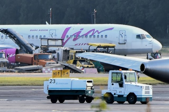 Russia has arrested the general director and chief accountant of failing VIM-AVIA airline on suspicion of fraud.