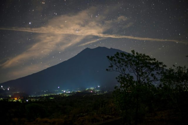 Mount Agung has been shaking since August and threatening to erupt for the first time since 1963 -- a potential blow to the country's lucrative tourism industry