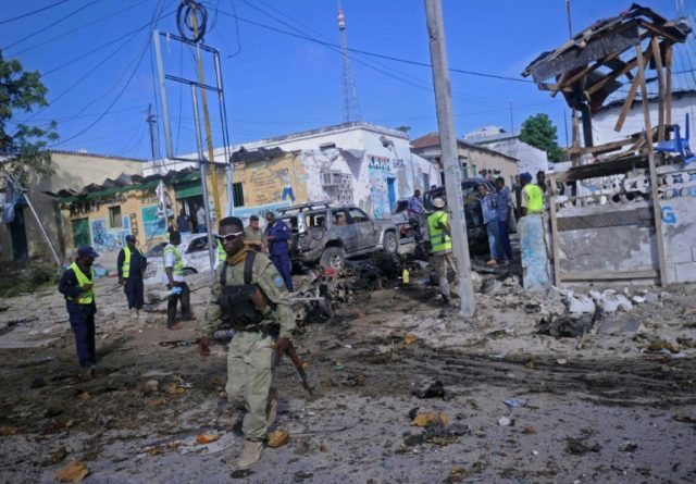 Al-Qaeda linked Shabaab Islamists had claimed an earlier attack on a police station in Mogadishu in June, which killed at least five people