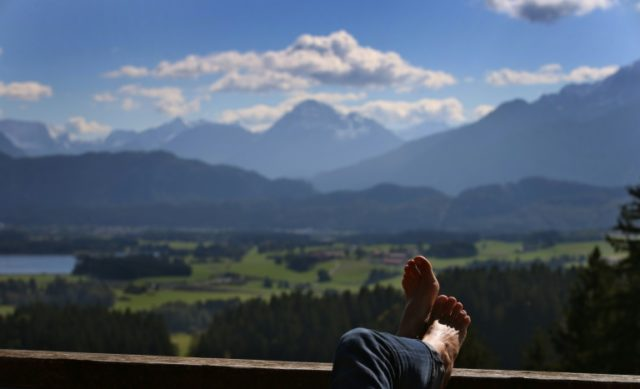 The sun keeps shining on the German economy