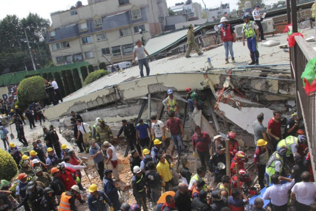 Death Toll Reaches 225 in Mexico City Earthquake