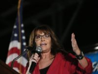 Sarah Palin: 'We Voted to Put America First, Not the Political Elite That Ignored Us for Decades'