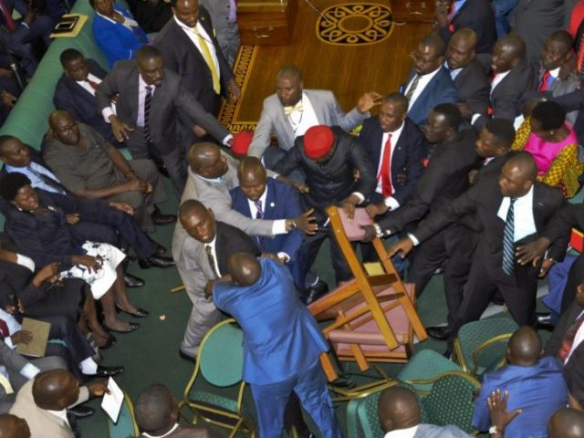 Uganda Lawmakers Throw Fists And Chairs At Each Other Over