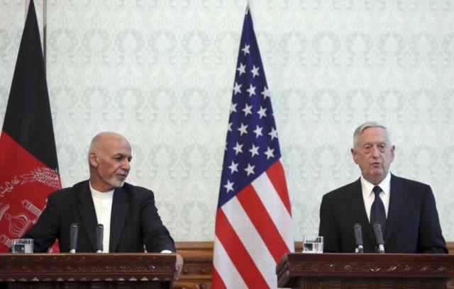 Jim Mattis, Ashraf Ghani