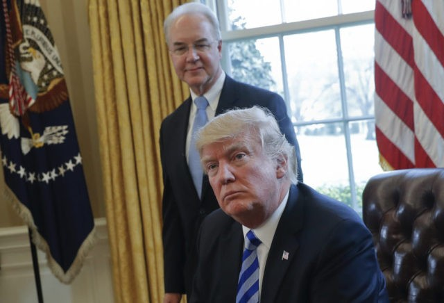 Donald Trump, Tom Price