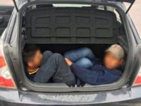 Human Smugglers Lead Federal Agents on Pursuit with Migrants Locked in Trunk