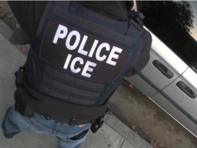 ICE ERO officer makes arrest.