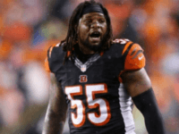 WATCH: Bengals LB Vontaze Burfict Kicks Steelers FB Roosevelt Nix in the Face