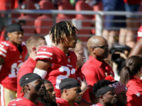 Four San Francisco 49ers Players Protest the Anthem on Sunday
