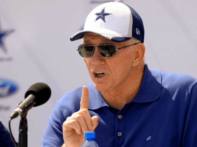 Jerry Jones: NFL can't tolerate players disrespecting flag