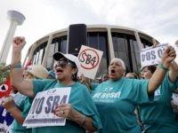 SB4 Sanctuary City Law Protest