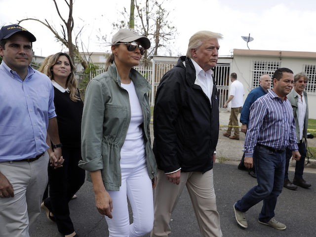 Trump praises Puerto Rico officials for 'low' death toll in hurricane