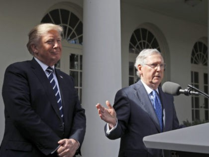 Mitch McConnell Challenges Steve Bannon: 'Winners Make Policy and Losers Go Home'