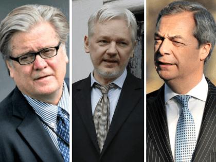 Bannon Assange Farage