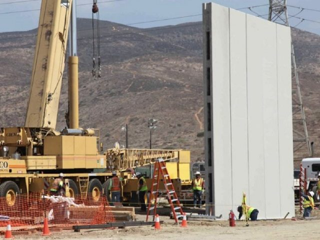 Trump's border wall gets an endorsement from House committee