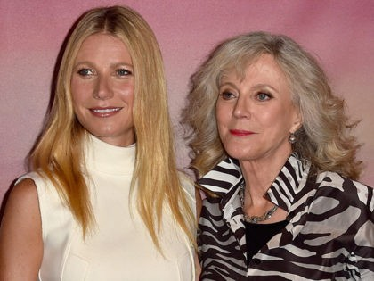 WEST HOLLYWOOD, CA - MAY 07: Actors Gwyneth Paltrow and Blythe Danner attend the Los Angeles special screening of Bleecker Street's 'I'll See You In My Dreams' at The London Screening Room on May 7, 2015 in West Hollywood, California. (Photo by Alberto E. Rodriguez/Getty Images)