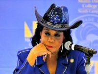 MIAMI, FL - OCTOBER 19: Rep. Frederica Wilson (D-FL) listens to testimony at a Congressional field hearing on nursing home preparedness and disaster response October 19, 2017 in Miami, Florida. The hearing comes in the wake of fourteen patient deaths at the Rehabilitation Center at Hollywood Hills, Florida, which lost …