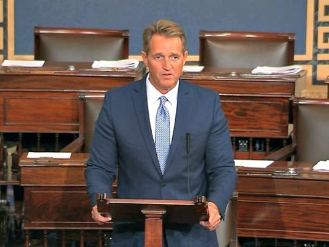 Flake Senate TV via AP