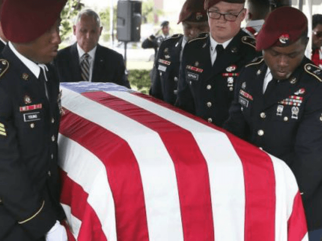 Fallen soldier's widow: 'Nothing to say' to Trump