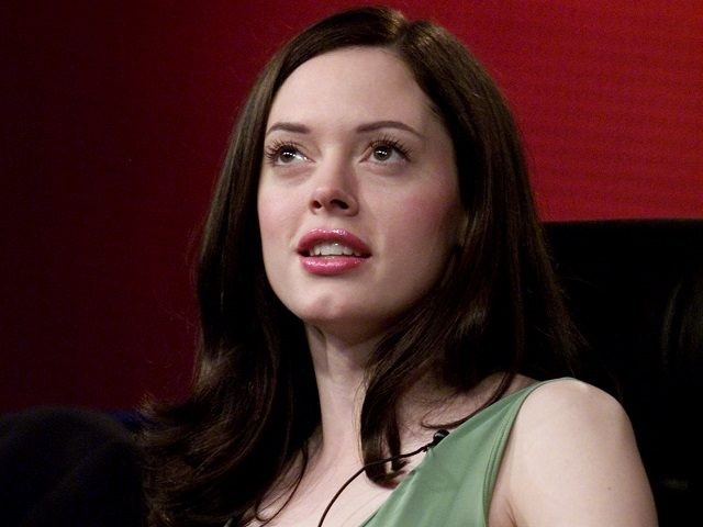 Actress Rose McGowan at the Television Critics Association Summer Tour. McGowan was promoting the Showtime Networks Inc. new Original Picture 'The Killing Yard.' The tour was held at the Ritz Carlton Hotel, Pasadena, CA., Thursday, July 12, 2001. (photo by Kevin Winter/Getty Images)