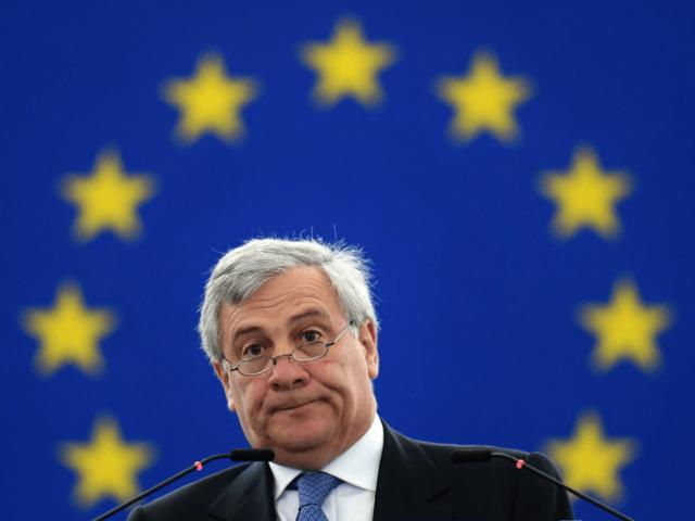 European Parliament's President Antonio Tajani
