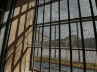 A picture taken on September 9, 2017 shows a window with jail bars at the central prison in the western city of Ensisheim. / AFP PHOTO / SEBASTIEN BOZON (Photo credit should read SEBASTIEN BOZON/AFP/Getty Images)