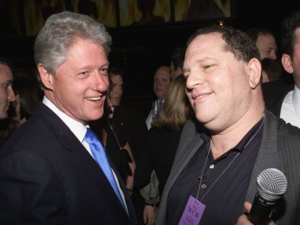 Clinton Foundation Pockets Harvey Weinstein's $250,000 Donation