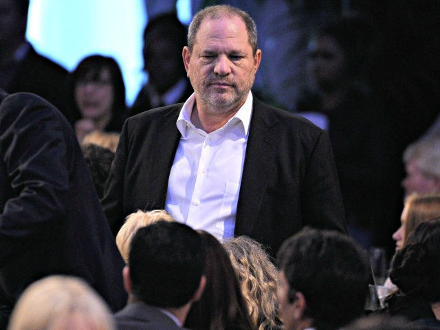 Producer Harvey Weinstein in the audience at the 2012 Film Independent Spirit Awards held at the Santa Monica Pier on February 25, 2012 in Santa Monica, California. (Photo by Kevork Djansezian/Getty Images)