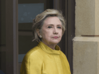 SWANSEA, WALES - OCTOBER 14: Hillary Clinton at Swansea University where she was given a Honorary Doctorate of Laws on October 14, 2017 in Swansea, Wales. The former US secretary of state and 2016 American presidential candidate is also visiting the UK to promote her new book 'What Happened'. (Photo by Matthew Horwood/Getty Images)