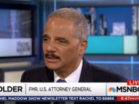 Holder: 'Our Democracy Is Under Attack' – I Don't Know If I'll Run for Office