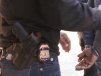 ICE officers arrest criminal alien in New York City.
