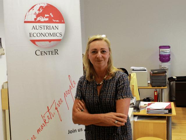 Dr Barbara Kolm, president of the Hayek Institute, an Austrian economics think-tank.