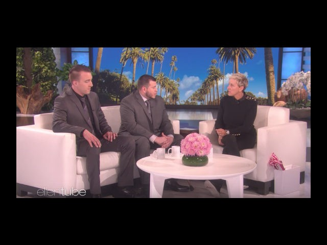 Jesus Campos, the Mandalay Bay security guard who was the Vegas gunman's first victim, sat down for his one and only interview with Ellen DeGeneres, which aired on Wednesday.