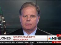 Roy Moore Opponent Doug Jones Downplays Democrat Label in MSNBC Interview