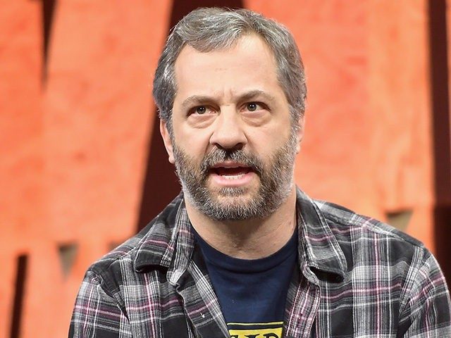 BEVERLY HILLS, CA - OCTOBER 04: Writer/director Judd Apatow speaks onstage during Vanity Fair New Establishment Summit at Wallis Annenberg Center for the Performing Arts on October 4, 2017 in Beverly Hills, California. (Photo by Matt Winkelmeyer/Getty Images)