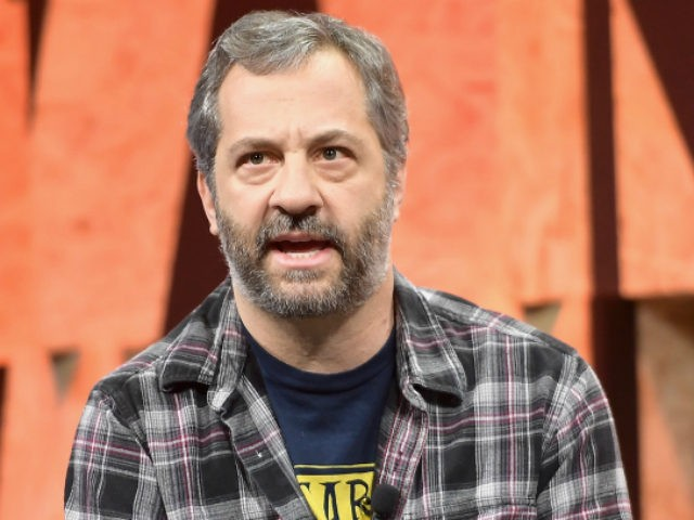 Writer/director Judd Apatow speaks onstage during Vanity Fair New Establishment Summit at Wallis Annenberg Center for the Performing Arts on October 4, 2017 in Beverly Hills, California.